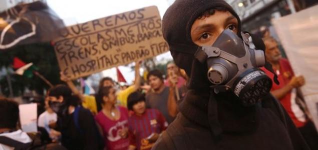 Na ulicama milijun ljudi: Policija pucala na prosvjednike u Riju, jedan mrtav u Sao Paulu