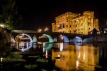 """""""Samozapaljiva"""" Vijećnica i """"samorušivi"""" Stari most"""