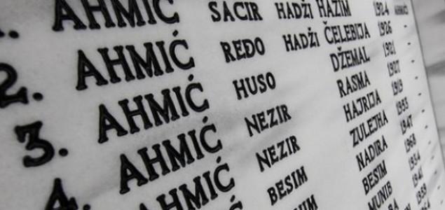 U Zagrebu sjećanje na žrtve ratnog zločina u Ahmićima