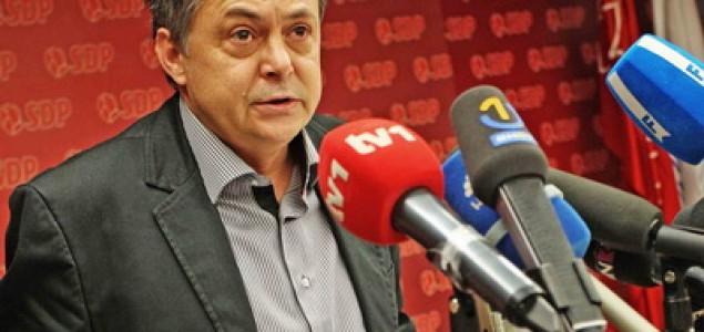 Huliganski napad na lidera ljevice u Mostaru Zoku Perića