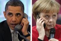 Barack Obama i Angela Merkel razgovarali prvi put nakon afere špijuniranja