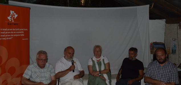 Promocija ratnog dnevnika Gorana Sarića na Boračkom jezeru