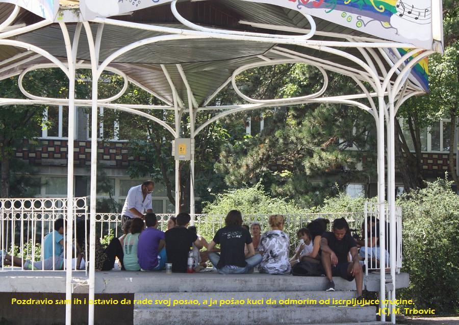 Letnja pozornica na Keju u subotu (Sv Iliju) posle 13 h