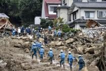Hirošima: Kiša otežava potragu za nestalima