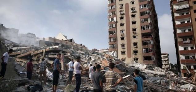 Ništa od pregovora Izrael u Gazi srušio 13-katni stambeni neboder