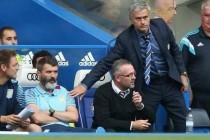 Mourinho se pokušao rukovati prije kraja utakmice, Lambert i Keane odbili