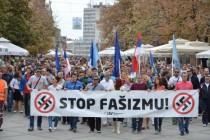 Protestna šetnja u Novom Sadu: Građani protiv fašizma
