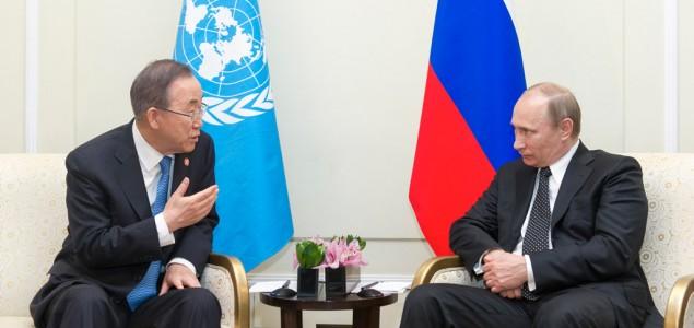 Putin i Ban Ki Mun podržali sporazum o prekidu vatre