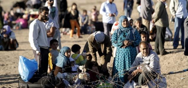 Turska otvorila granice za sirijske izbjeglice: Prebjeglo preko 100.000 Kurda