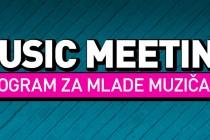 PRIJAVITE SE NA MUSIC MEETING