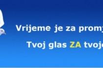 """Promocija kandidata zajedničke liste """"Domovina"""" u Banjoj Luci"""