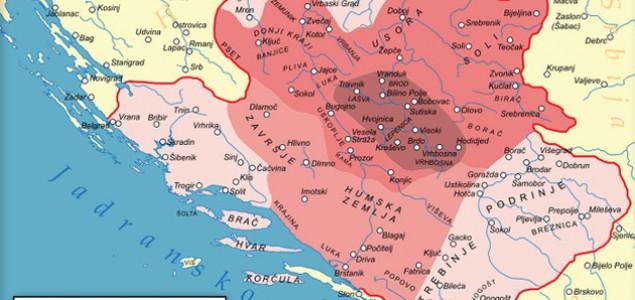 Za vrijeme vladavine Tvrtka I Kotromanića Bosna je bila najsnažnija u historiji postojanja