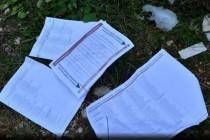 Planinari pronašli razbacane glasačke listiće u Parku prirode Blidinje