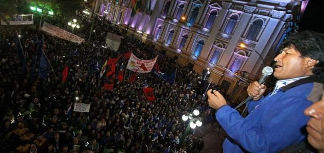 Morales objavio izbornu pobjedu u Boliviji