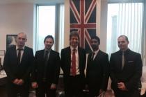Britanski ambasador posjetio Alfa Energy Group
