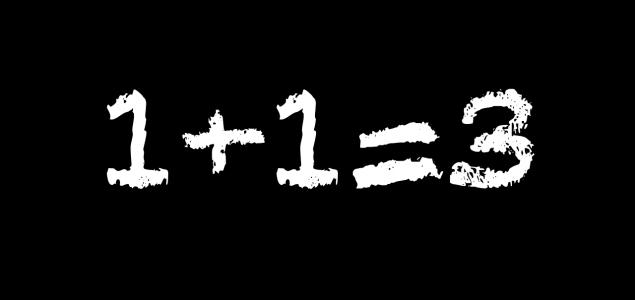 1+1 = 3