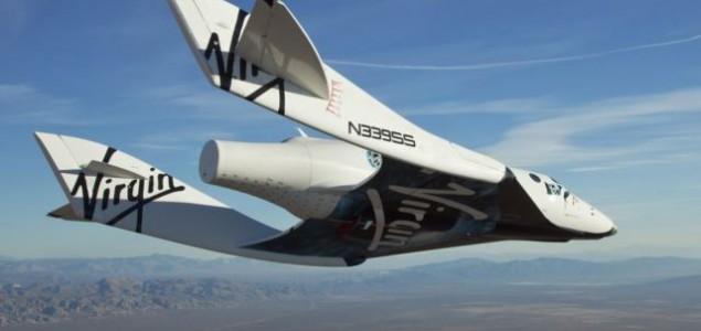 Srušio se putnički svemirski brod tokom probnog leta