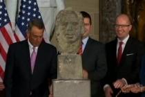 Otkrivena bista Vaclava Havela u Kongresu SAD
