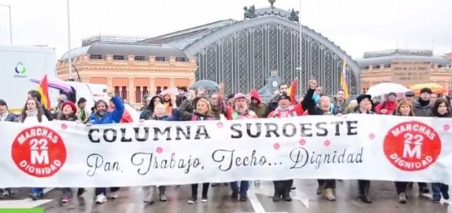 "Marš Dostojanstva – deseci tisuća na ulicama Španjolske: ""Kruha, posla, krov nad glavom"""