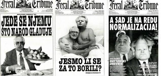 Turbulentna vremena hrvatskog tjednika Feral Tribune