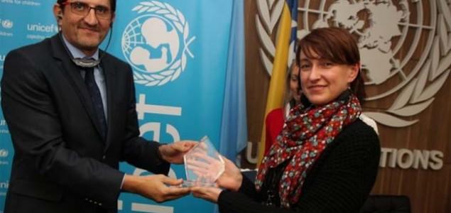 Novinarki SB Nidžari Ahmetašević nagrada UNICEF-a za doprinos promociji prava djeteta 2014.