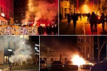 Zurich u plamenu: anti-kapitalističke ljevičarske skupine žestoko se sukobile s policijom