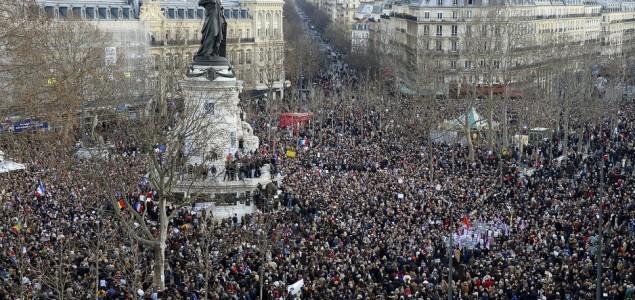 Počeo Marš jedinstva: Milion građana Francuske izašlo na ulice