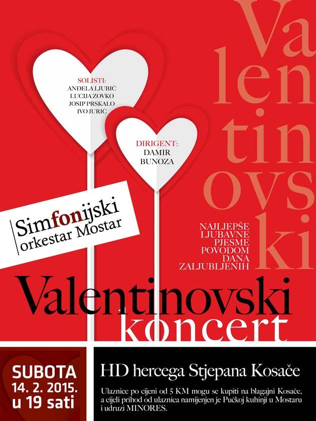 Plakat - Valentinovo 2015