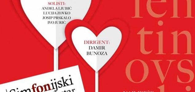 Tradicionalni Valentinovski koncert od ove godine u velikoj dvorani Kosače