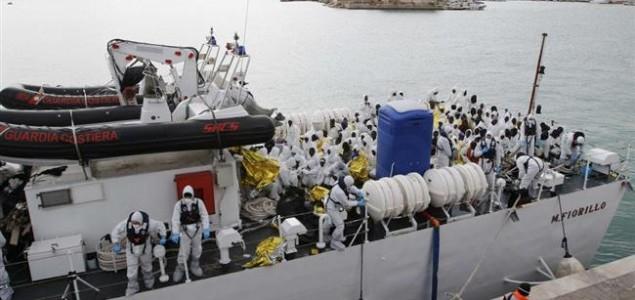 U Sredozemlju spašeno više od 2000 imigranata