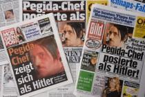Vođa njemačke Pegide koji pozirao kao Hitler vraća se na čelo pokreta