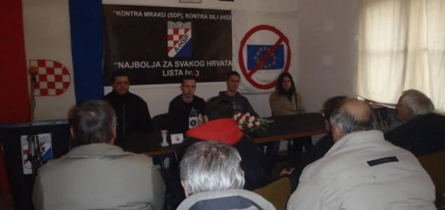 """Policija ipak zabranila ustaškom A-HSP-u postrojavanje """"stranačke vojske"""""""