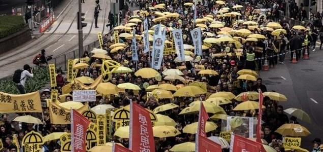 Žuti kišobrani ponovo na ulicama Hong Konga
