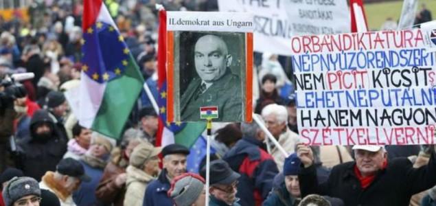 Mađarska: Hiljade demonstranata na ulicama Budimpešte
