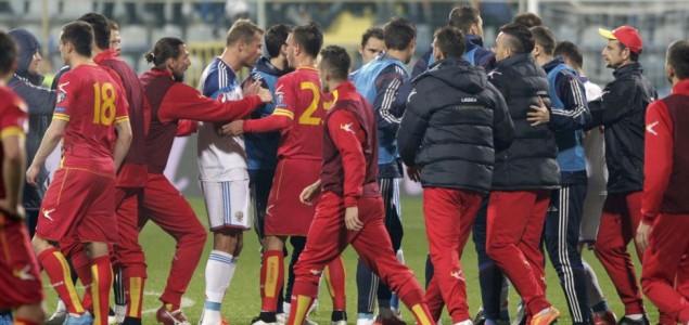 Haos u Podgorici: Utakmica Crna Gora-Rusija definitivno prekinuta