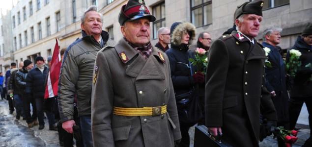 Veličanje nacizma: SS divizija uz pratnju policije promarširala Rigom