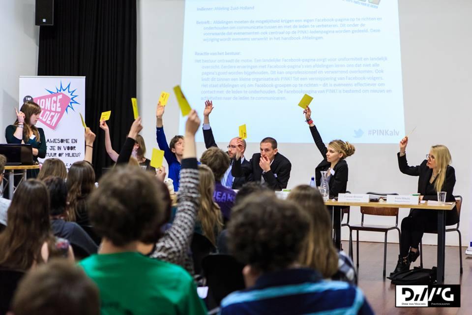Konvencija stranke PvdD - 2 Karla skroz desno