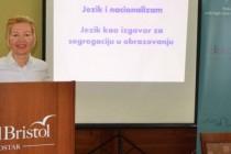 Snježana Kordić u Mostaru: Jezik je izmišljeni razlog zašto je uvedeno razdvojeno školovanje u BiH