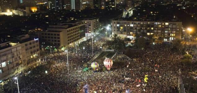 Deseci hiljada na protestu protiv Netanyahua