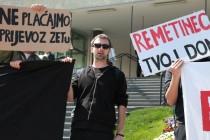 U Zagrebu prosvjed protiv Bandića