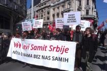 Levi samit Srbije poziva na okupljanje povodom Prvog maja, međunarodnog praznika rada, u Beogradu i Zrenjaninu.