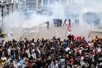 Brazil: Povrijeđeno više stotina demonstranata