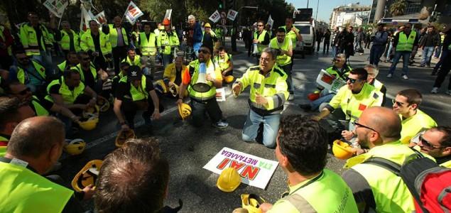 Grčka: Hiljade rudara na ulicama radi očuvanja radnih mjesta