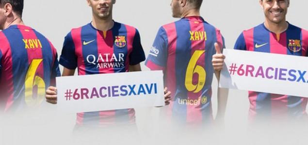 Barcelona u Xavijevu čast protiv Deportiva igra u specijalnim dresovima