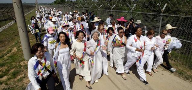 Grupa aktivistkinja prešla granicu između dve Koreje
