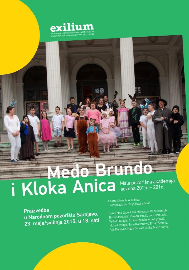 MEDO BRUNDO I KLOKA ANICA - plakat (A3) (3)