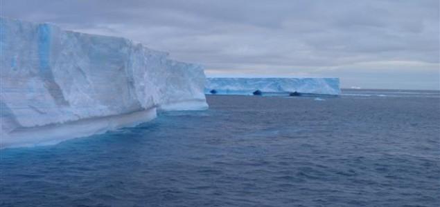 Antarktički ledenjaci se ubrzano otapaju