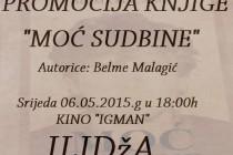 """Promocija knjige """"MOĆ SUDBINE"""""""