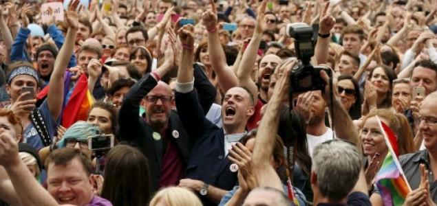 Povijesni referendum: Irska se sa 62 posto glasova odlučila za istospolni brak