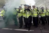 Prosvjedi protiv Camerona i najavljenih mjera štednje u Londonu – 17 uhićenih